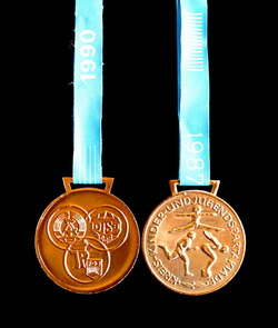 Medaille in Bronze