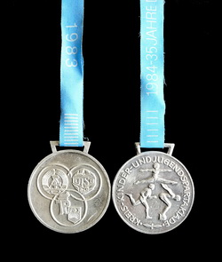Medaille in Silber