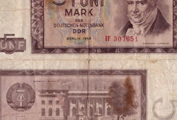 5 Mark Banknote 1964