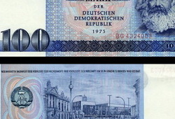 100 Mark Banknote 1975