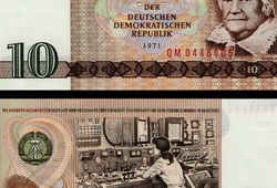10 Mark Banknote 1971