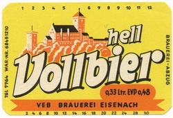Eisenacher Vollbier Hell
