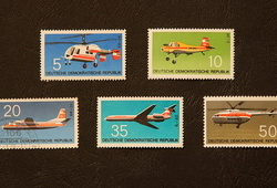 Briefmarken DDR Interflug